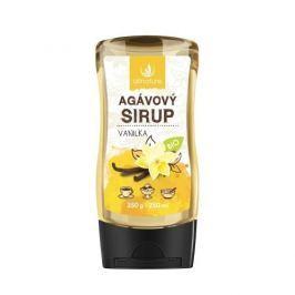 Allnature Agávový sirup BIO 250 ml Vanilka