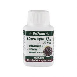MedPharma Coenzym Q10 30 mg + vitamín E + selen 60 tob. + 7 tob. ZDARMA