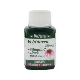 MedPharma Echinacea 100 mg + vitamín C + zinek 30 tbl. + 7 tbl. ZDARMA