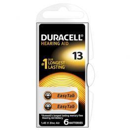 Duracell Naslouchátkové baterie Specialites Hearing Aid 13 6p