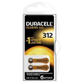 Duracell Naslouchátkové baterie Specialites Hearing Aid 312 6p