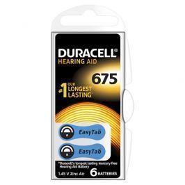 Duracell Naslouchátkové baterie Specialites Hearing Aid 675 6p