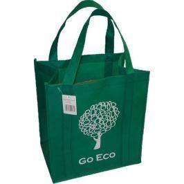 Kappus Nákupní taška GO ECO 4 barevné motivy tmavě zelená