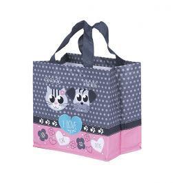 Kappus ECO taška I Love Pets 2 barevné motivy růžová