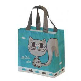 Kappus ECO taška KityKat 10 barevných motivů tyrkysová