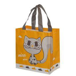 Kappus ECO taška KityKat 10 barevných motivů žlutá