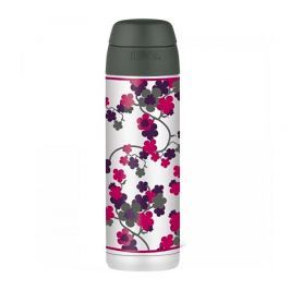 Thermos Style Termoska na nápoje s brčkem - třešňový květ 530 ml