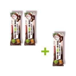 LeGracie Tyčinka čokoládová s dýňovým proteinem B&W 35 g Akce 2+1
