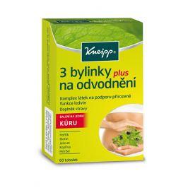 Kneipp 3 bylinky na odvodnění 60 tobolek - SLEVA - POŠKOZENÁ KRABIČKA