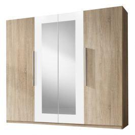 Šatní skříň Verwood Typ 20 (sonoma + bílá)