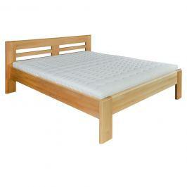 Manželská postel 140 cm LK 111 (buk) (masiv)