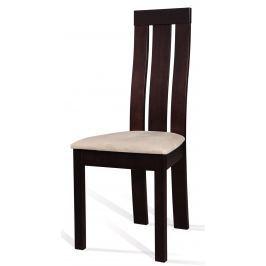 Jídelní židle C-27 (wenge + tap. M03)