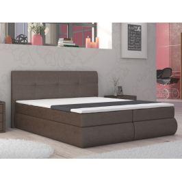 Manželská postel Boxspring 160 cm Peoria (s matracemi)