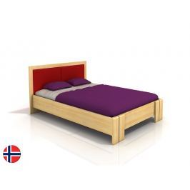 Manželská postel 200 cm Naturlig Manglerud High BC (borovice) (s roštem)