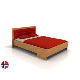 Manželská postel 200 cm Naturlig Stjernen High BC (buk) (s roštem)