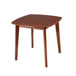 Jídelní stůl Rospan 80 (pro 4 osoby) (ořech)
