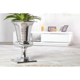 INV Dekorační váza EMILY 75cm stříbrná