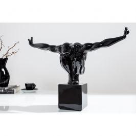 INV Dekorace OLYMPIER I 45cm černá