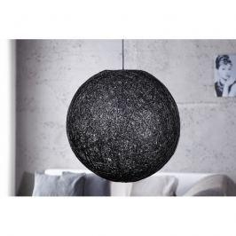 INV Závěsné svítidlo Kokon M černé 35cm
