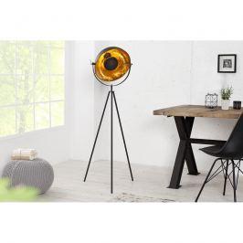 INV Stojací lampa Silueta 140 cm černá-zlatá