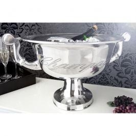 INV Chladící nádoba na šampaňské 40cm stříbrná