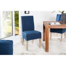 INV Jídelní židle Rivers, modrá stone-wash