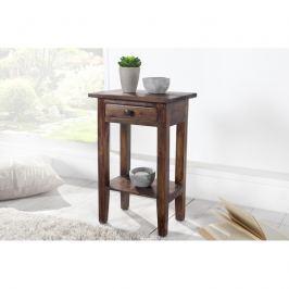 INV Odkládací telefonní stolek Luisiana, kávový