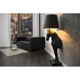 INV Stojací lampa Horse černá