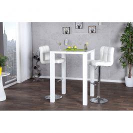 INV Barový stůl Lucern bílý 80cm