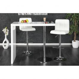 INV Barový stolek Magic bílý