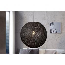 INV Závěsné svítidlo Kokon černá 45cm