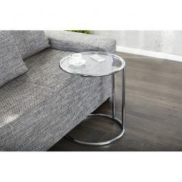 INV Odkládací stolek Focus, stříbrná