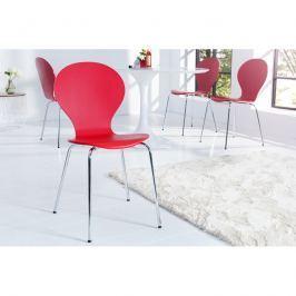 INV Jídelní židle Face červená