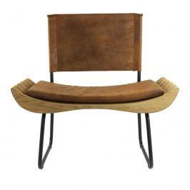 Židle Botanic brown