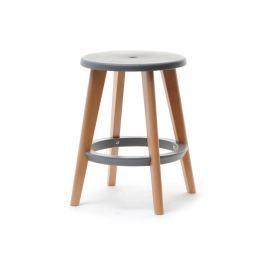 Židle DELIMA ve skandinávském stylu Šedá