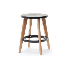 Židle DELIMA ve skandinávském stylu Černá