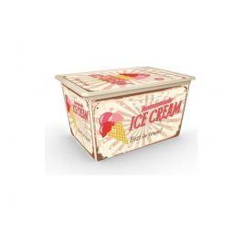 C Box Style Vintage Sweet XL 50l s kolečky KIS 008418YSVSW