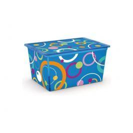 C Box Style Bubbles XL, 50l s kolečky KIS 008418BUB