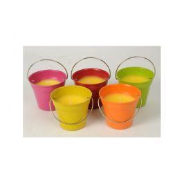 Citronová svíčka v barevném kbelíku ARTI CASA 54418