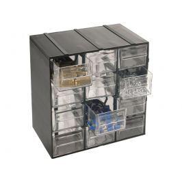 Organizér Hobby 12 - 12 výsuvných boxů - rozměr 190x142x228 mm ARTPLAST ARTHOBBY12