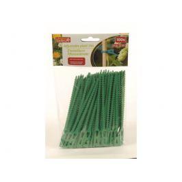 Pásky upínací zelené 100ks LIFETIME GARDEN 8711252951041