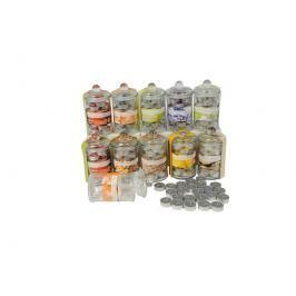 Čajové svíčky parfemované ve skleněné dózičce 24ks No brand 8711252521473