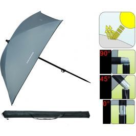 Trabucco Deštník Light Grey Umbrella 150cm