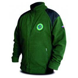 Chyť a pusť Bunda Fleece zelená Hi-Q - vel. L