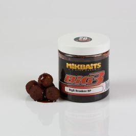 Mikbaits Boilie Legends v dipu 250ml - BigB Broskev Black pepper 24mm