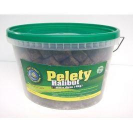 Chyť a pusť Pelety Halibut s dírou KBELÍK 3,6kg