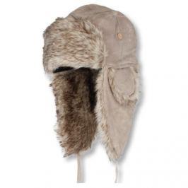 Eiger Ušanka Lady Suede Fur Hat Pale Khaki - vel. L (59 cm)