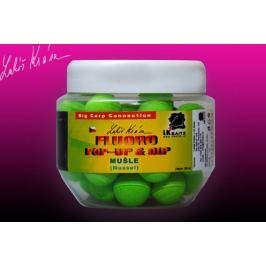 LK Baits Pop-Up Fluoro Mušle + dip