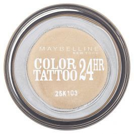 Maybelline oční stíny Color Tattoo 24hr   Eternal Gold 05