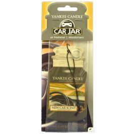 Yankee Candle Car Jar New Car papírová visačka do auta 1 ks